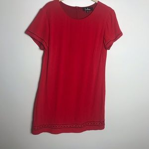 Lulu's Red Dress Perfect for Valentine's Day!